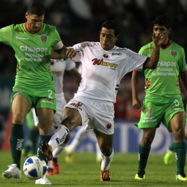 Chiapas no supo aprovechar su condición de local y empató 1-1 con Veracruz