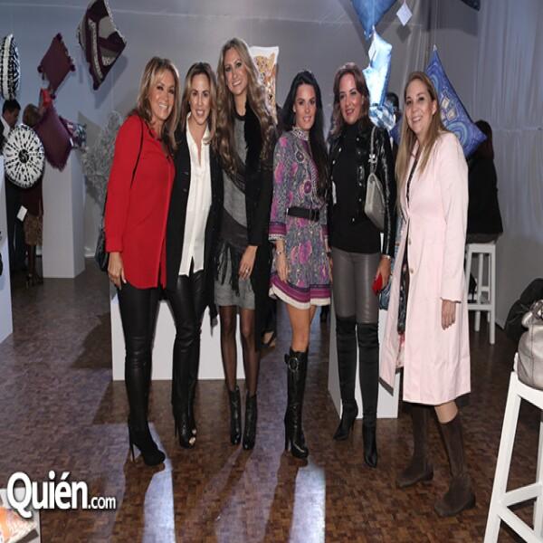 Rosaura Henkel, Karla Pérez Fayad, Pixie Devlyn, Gabriela Murillo, Sabrina Herrera y Natalia Margain