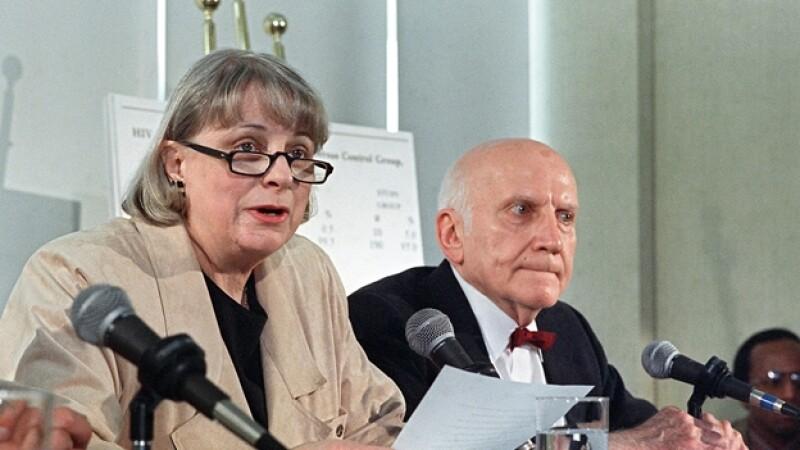 Virginia Johnson y William Masters sexologos