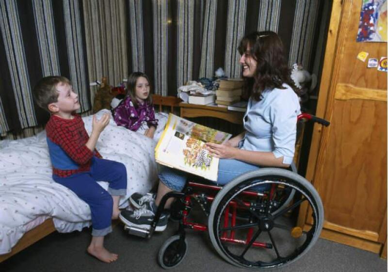 casa vivienda Discapacitado