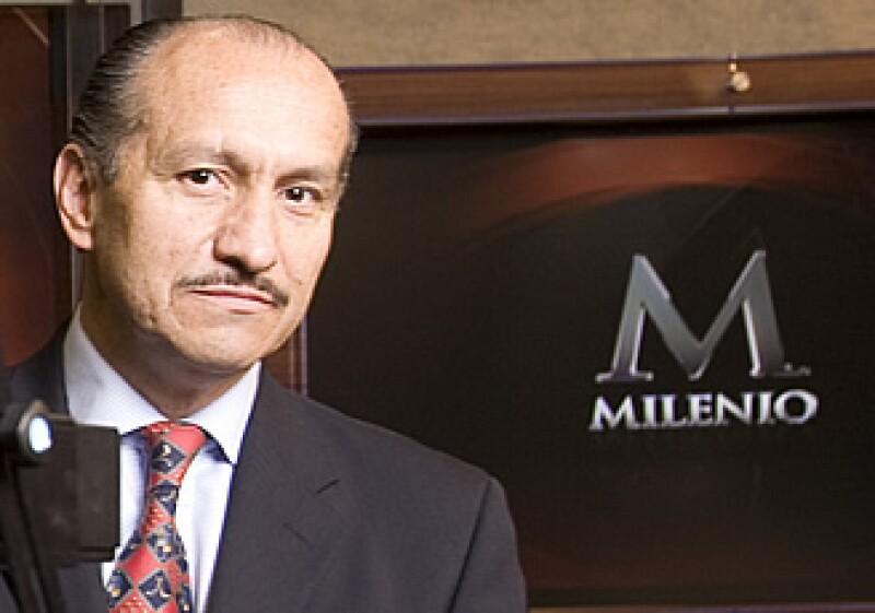 Tomás Sánchez, director corporativo de Mercadotecnia de Grupo Milenio. (Foto: Adán Gutiérrez)