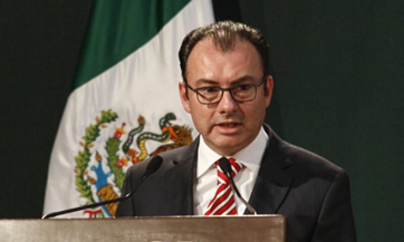 La secretaría a cargo de Luis Videgaray informó que el gasto público aumentó 0.9% en mayo. (Foto: Cuartoscuro )