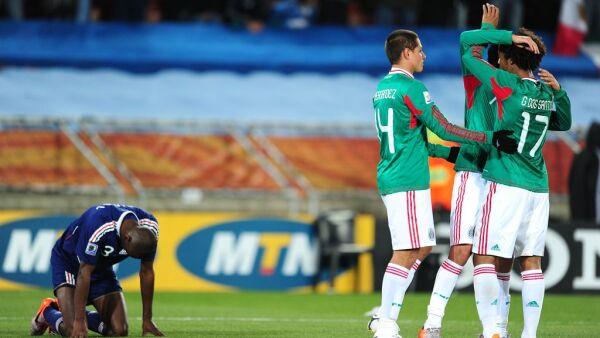 México vs. europeos