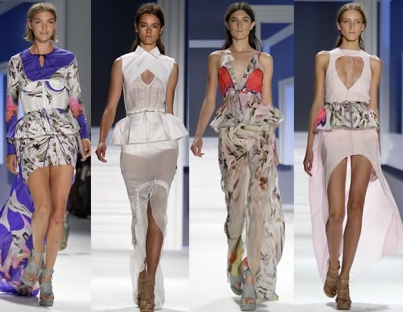 Oscar de la Renta, Marchesa, Rodarte y Vera Wang sobresalieron durante la sexta jornada de actividades del Marco de la Moda neoyorquino.