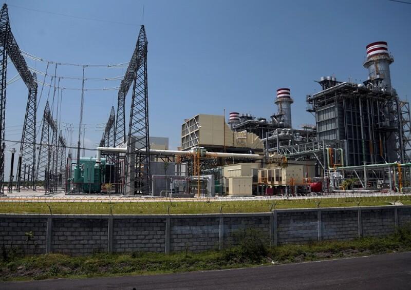 Planta Termoel�ctrica de CFE en Yecapixtla