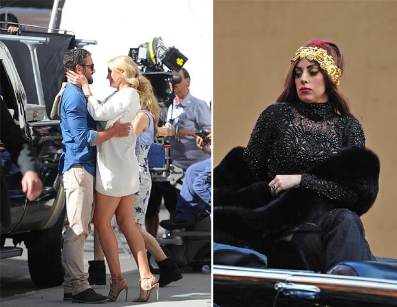 """La actriz y Taylor Kinney se han hecho muy buenos amigos en el set de la película """"The Other Woman"""", hecho que tiene molesta a Gaga pues su prometido suele salir con su compañera de trabajo."""