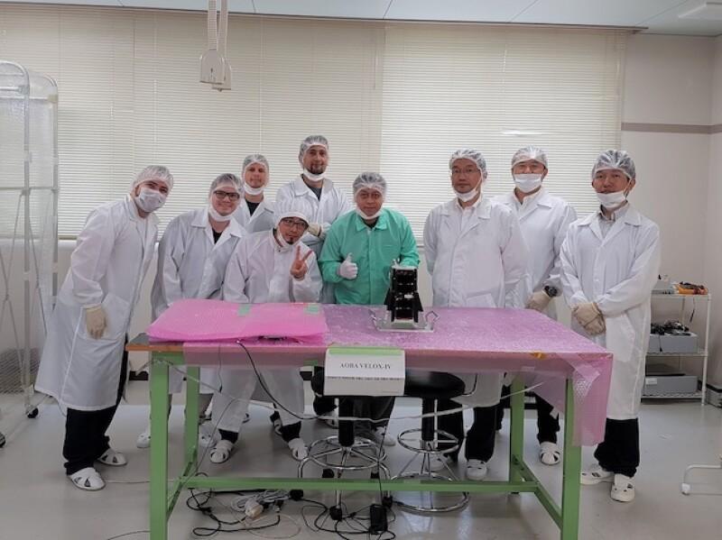 """El investigador José Rodrigo Córdova Alarcón participó en el desarrollo del satélite """"Aoba Velox IV"""""""