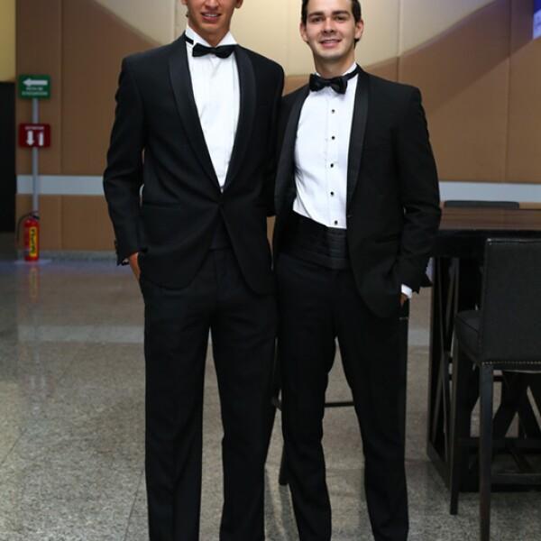 Arturo Elías Slim y José María Quintana