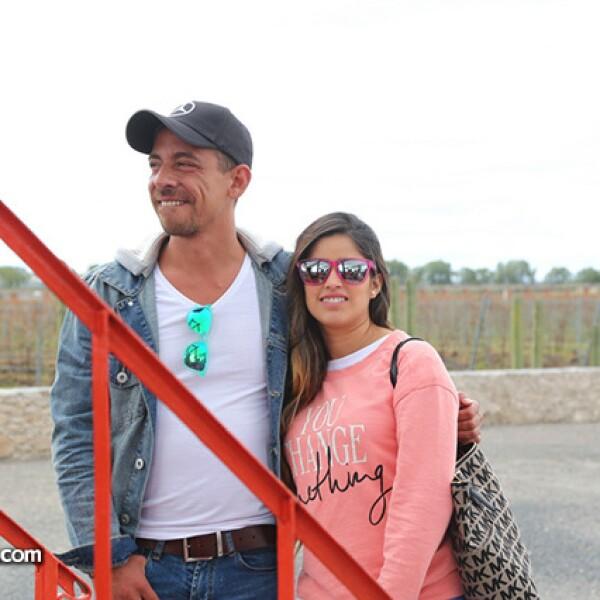 René y Daniela Ortiz