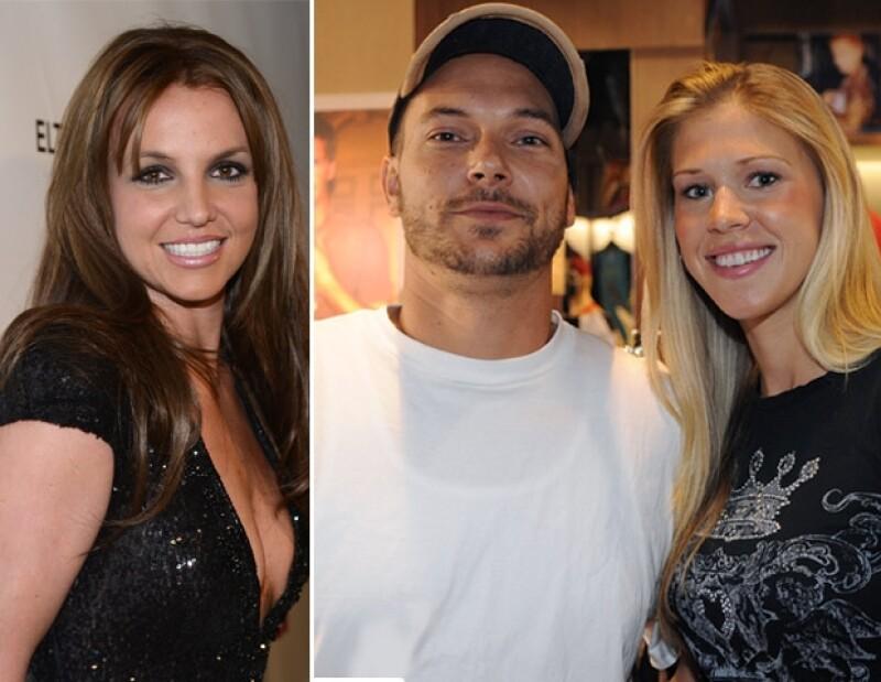 La pareja acudió a un partido de futbol de Sean Preston y Jayden James; el ex matrimonio actuó con gran madurez. La nueva pareja de Federline también estaba presente.