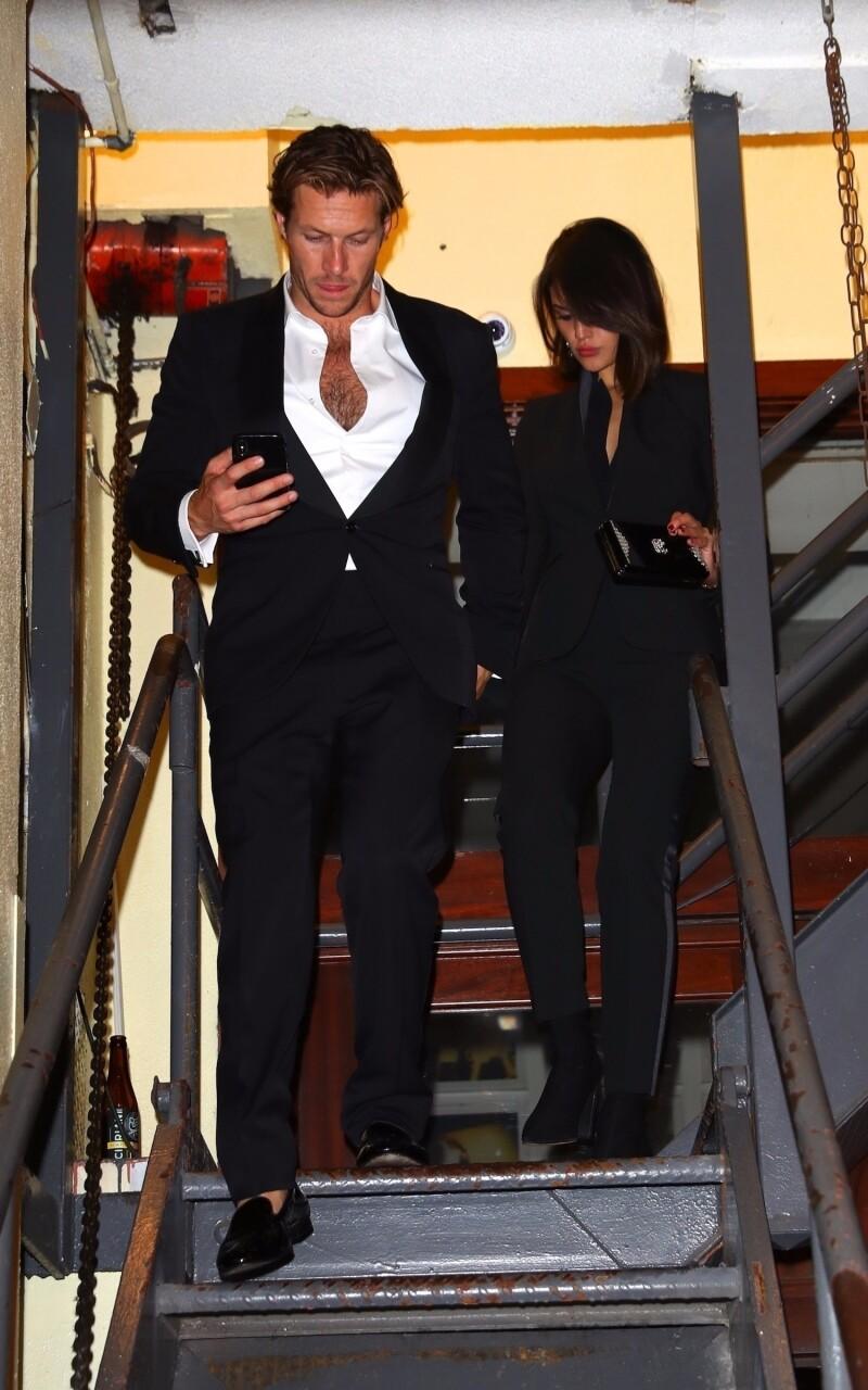 Eiza Gonzalez y Luke Bracey