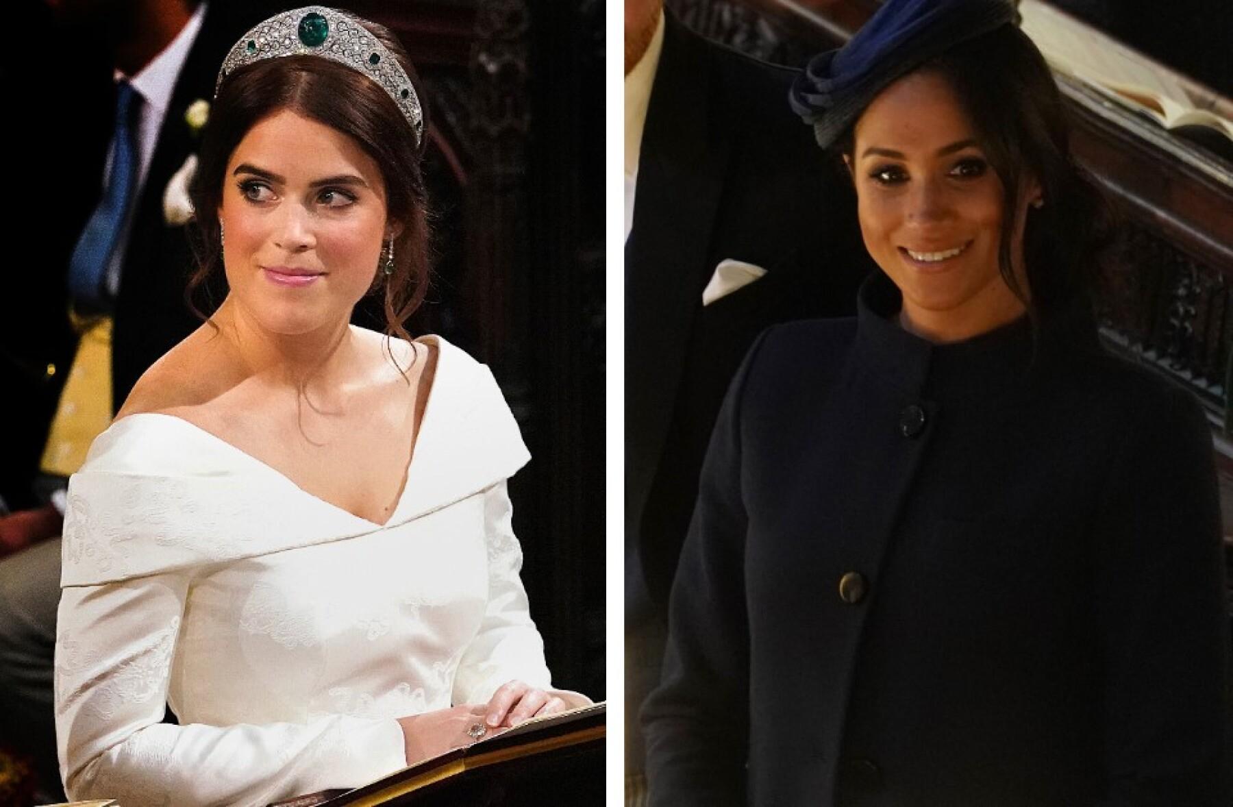 Princesa Eugenia y Meghan Markle