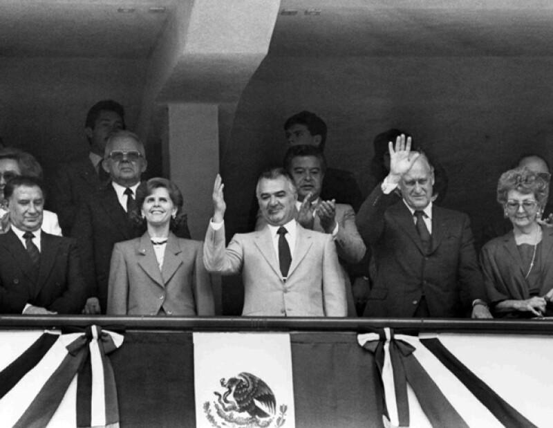 Miguel de la Madrid fue presidente de México de 1982 a 1988.