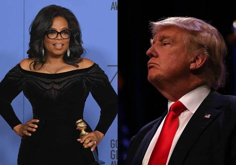 Oprah y Trump