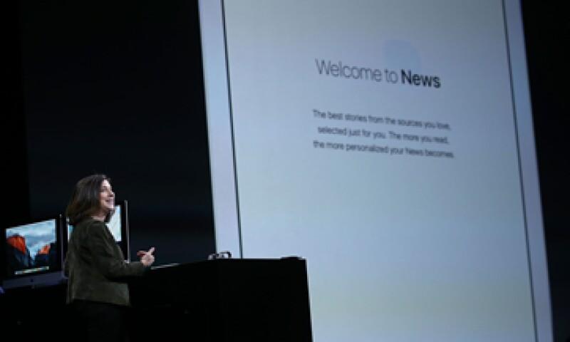 Apple News combinará la plataforma rica de una revista con la inmediatez de los medios digitales. (Foto: Reuters)