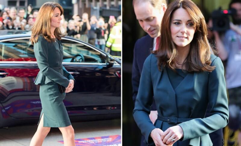 Este ha sido una de las apuestas en hairstyle más grande que ha hecho la duquesa desde que formó parte de la realeza.
