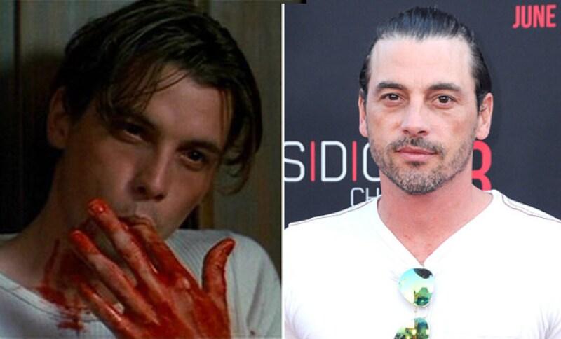 Es conocido por el papel que logró en la película Scream.