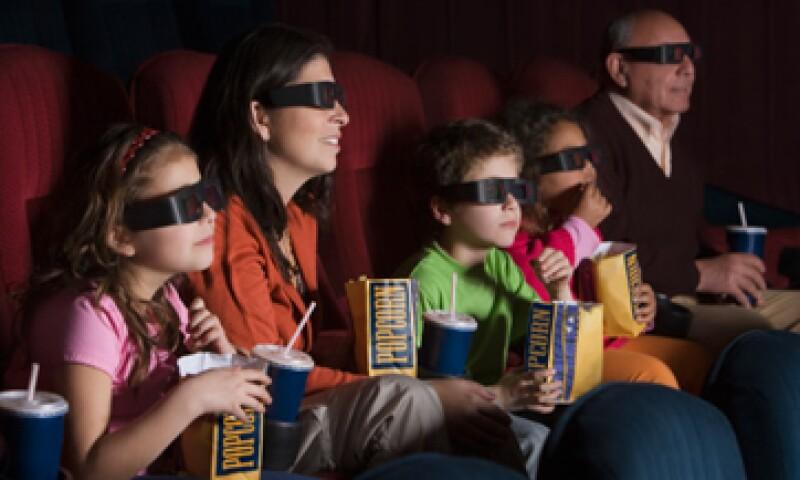 Cinemex, formada en 1995, tiene 223 instalaciones y 1,966 pantallas.  (Foto: Getty Images)