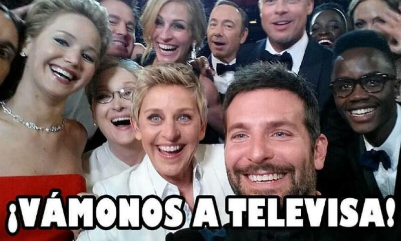 Los actores de Hollywood también quieren ganar lo mismo que Angélica Rivera en este meme.