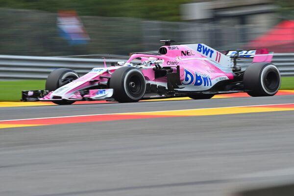 Sergio Pérez Force India 2018