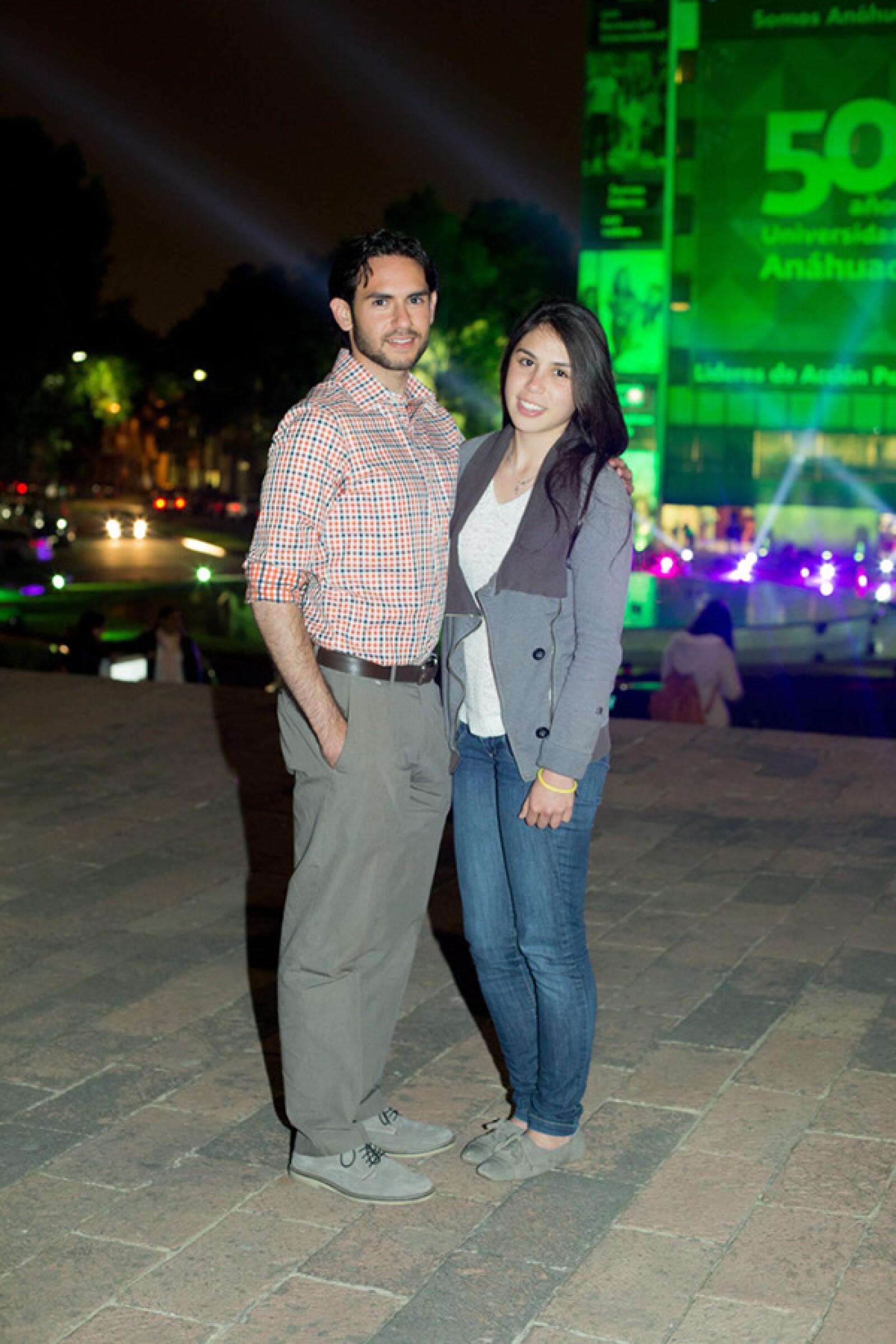 David Massarano y Mercedes Sánchez