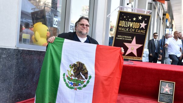 Guillermo del Toro Honored With Star On The Hollywood Walk Of Fame
