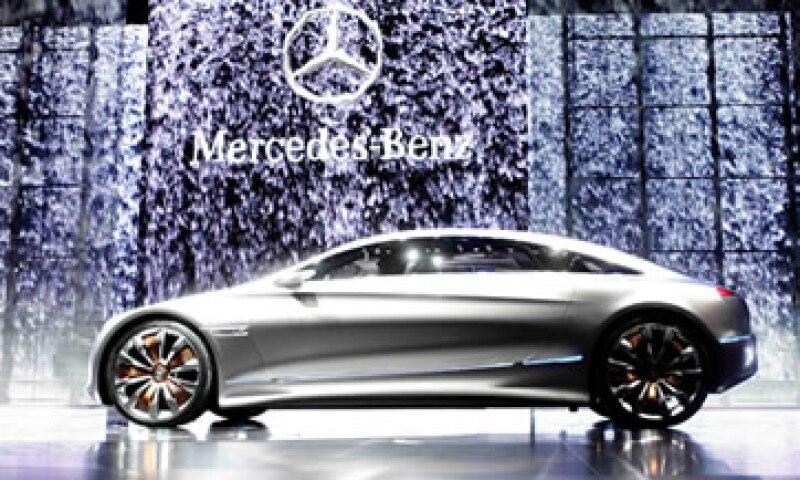 Mercedes-Benz abrió el show de Frankfurt con su nuevo modelo conceptual,el F125. (Foto: Reuters)