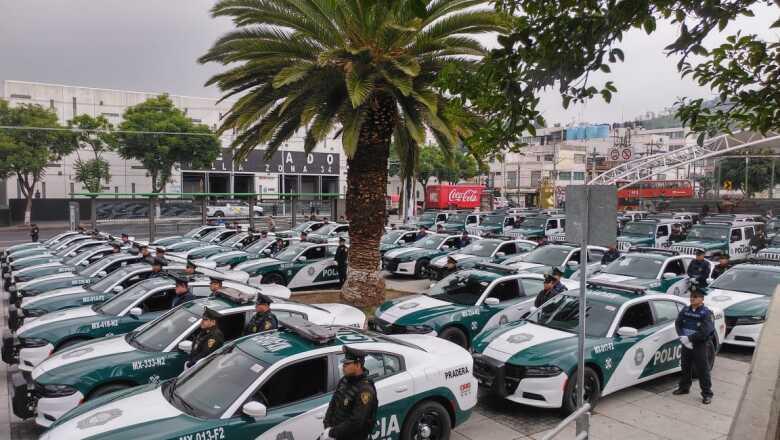 presentación patrullas CDMX