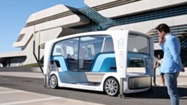 El Salón del Automóvil Ginebra muestra transporte inteligente y autos voladores