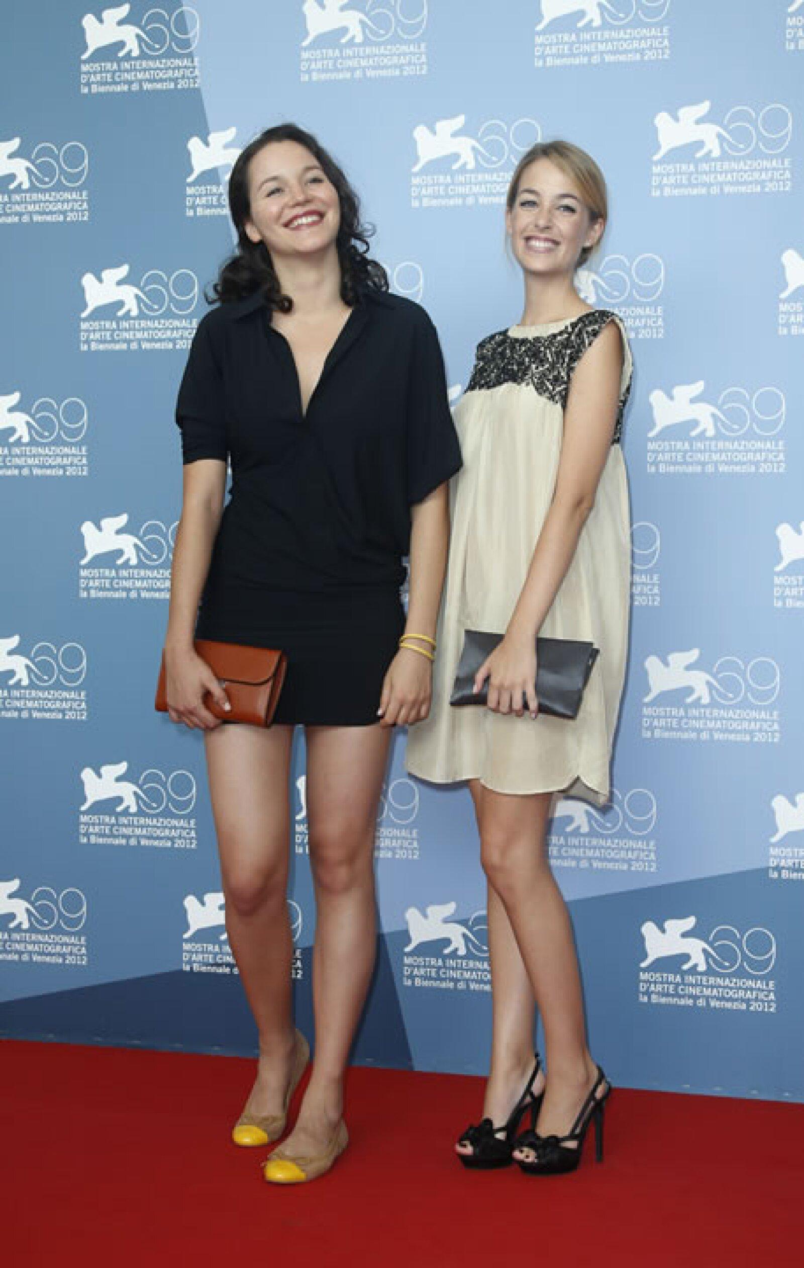 Las actrices Joana de Verona y Victoria Guerra.