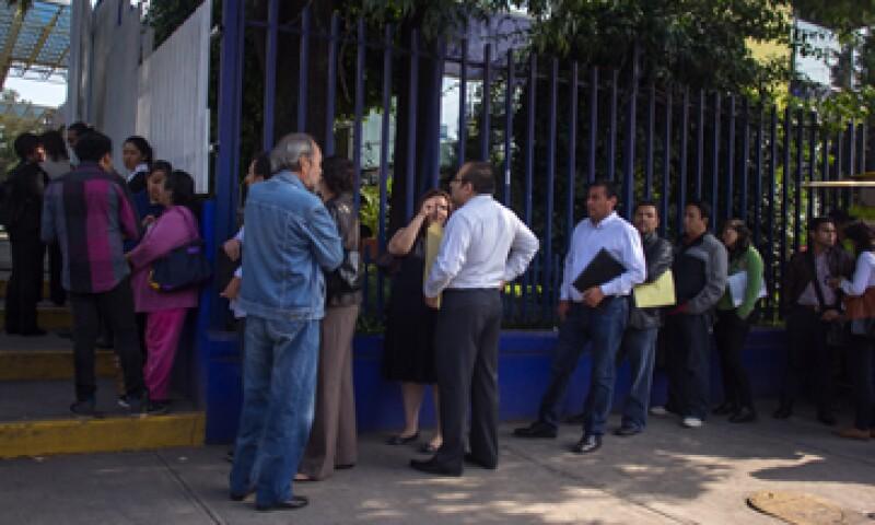 En su comparación anual, la tasa de desempleo fue de 4.4%, menor al 4.6% del mismo mes del año pasado.  (Foto: Cuartoscuro)