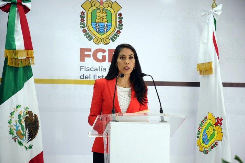 La Fiscal de Veracruz, Verónica Hernández Giadáns