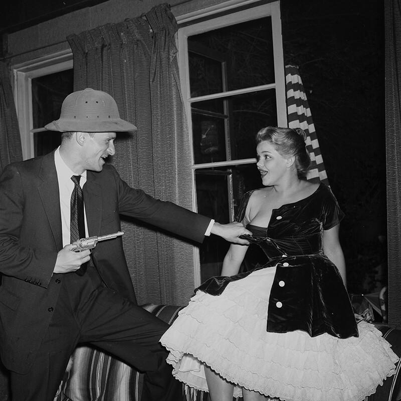hefner en 1957