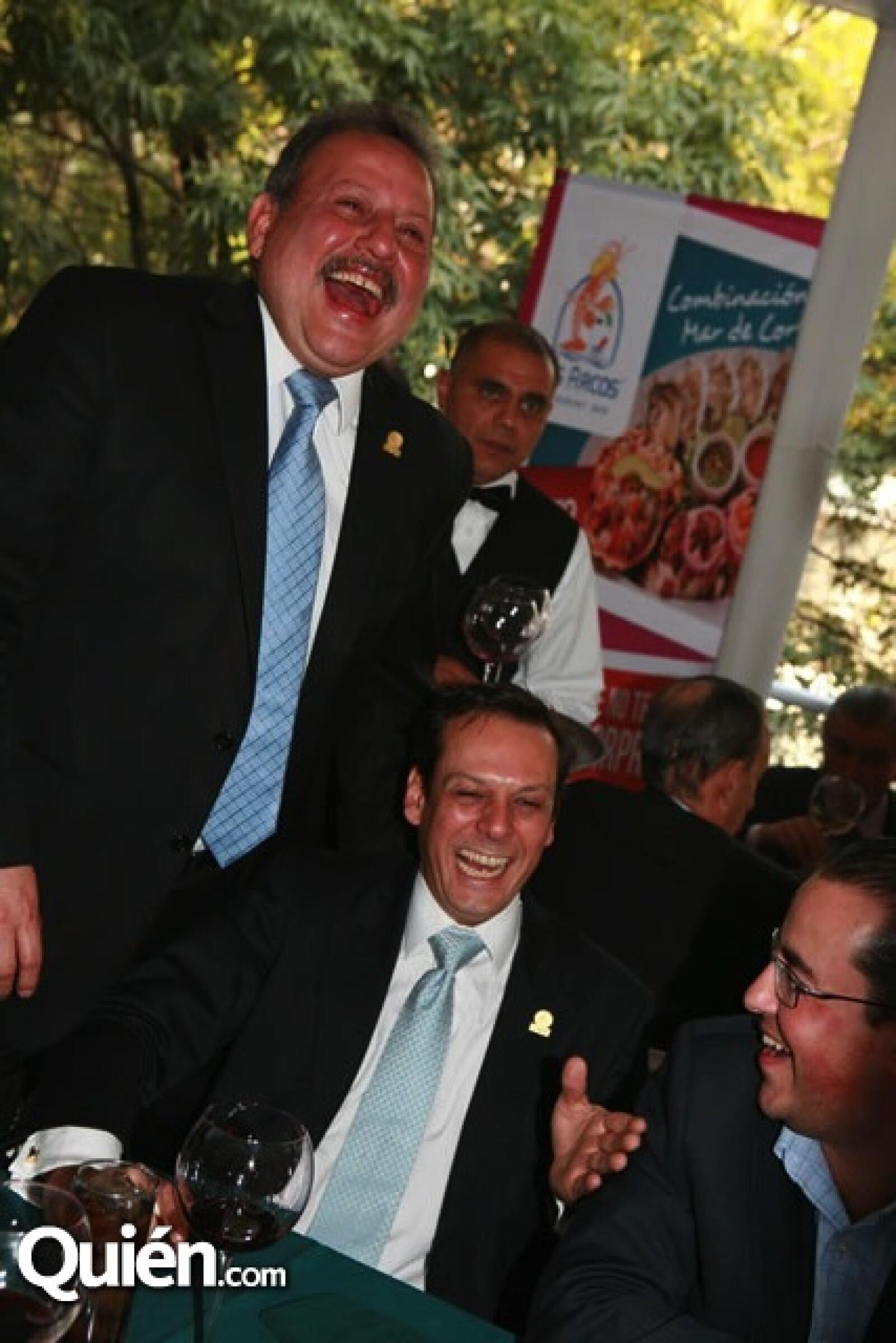 Jorge Durán, Alberto Martínez y Andrés Gay