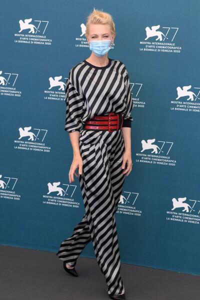 Jury photocall, 77th Venice International Film Festival, Italy, Cate Blanchett - 02 Sep 2020