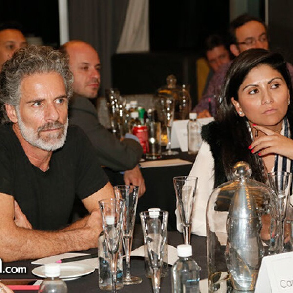 Carlos Bisdikian y Pilar Erreguerena