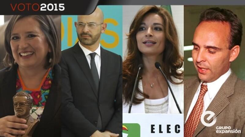 Candidatos en Miguel Hidalgo