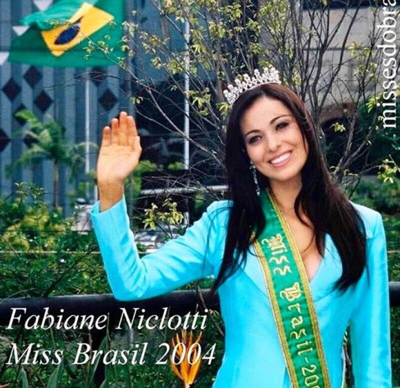 Fabiane Niclotti fue Miss Brasil en 2004.