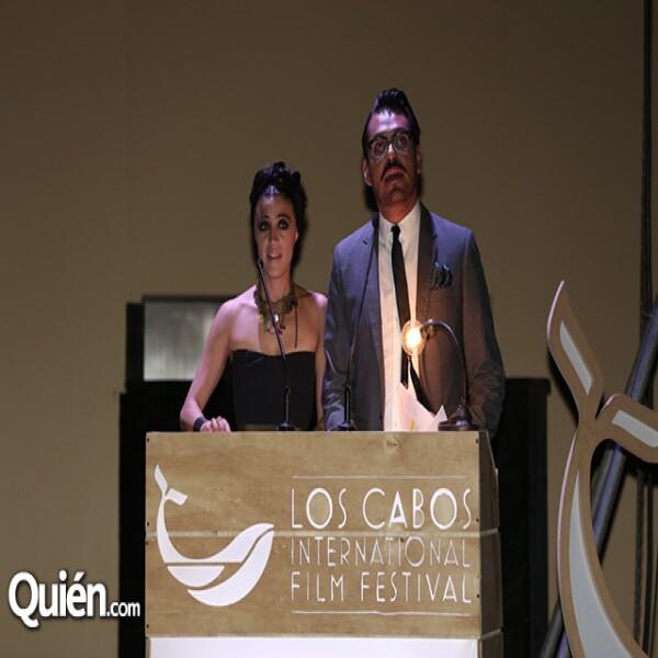 Ilse Salas y Alonso Aguilar Castillo