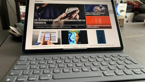 El iPad Pro va por mercado de laptops