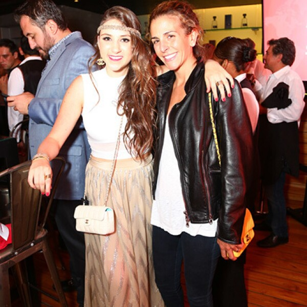 Therese Gotlib y Nitza Michan