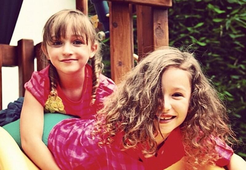 Nina es la menor de las hermanas Rubín.