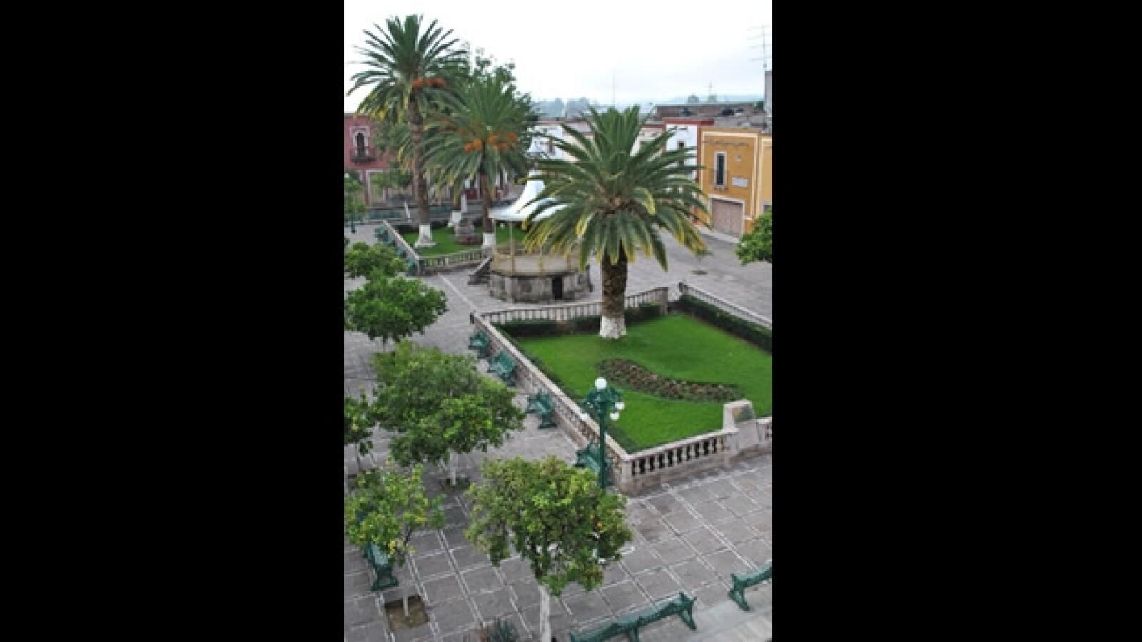 plaza principal del municipio