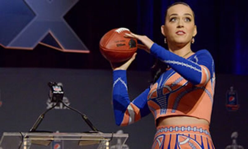 Katy Perry tendrá varios cambios de vestuario para el Super Bowl. (Foto: Reuters)