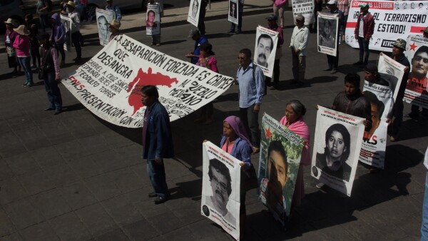 Manifestación desaparecidos