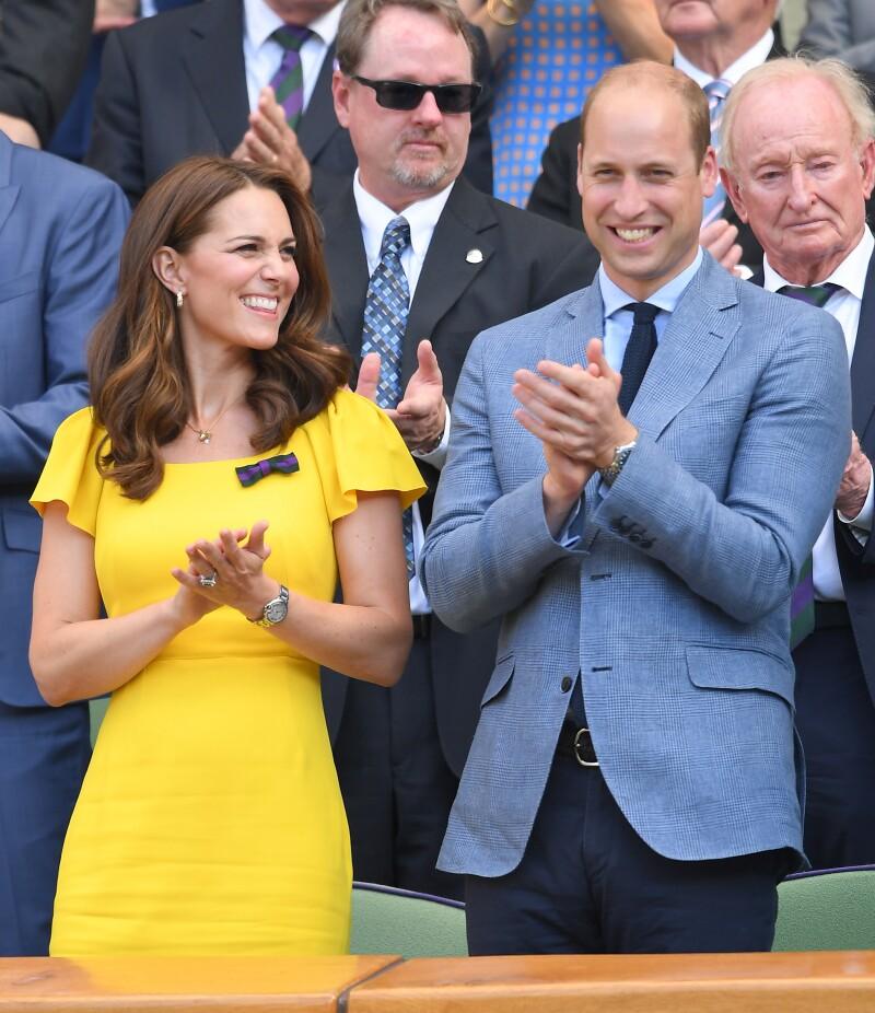 Kate Middleton y William en Wembley 2018