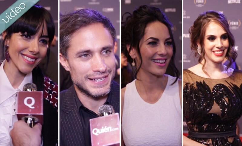 Asistimos a la red carpet de los Premios Fenix en donde nos encontramos a Gael García y Bárbara Mori y más, para hablar de artistas, películas y guilty plesures.