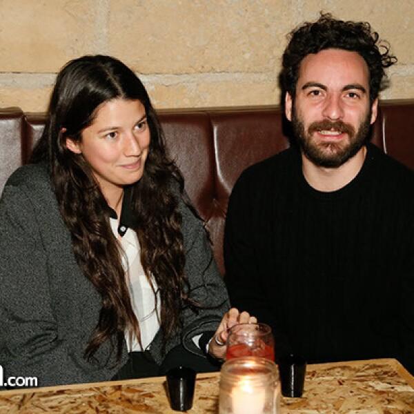 Ximena Fernández y Carlos Agustín
