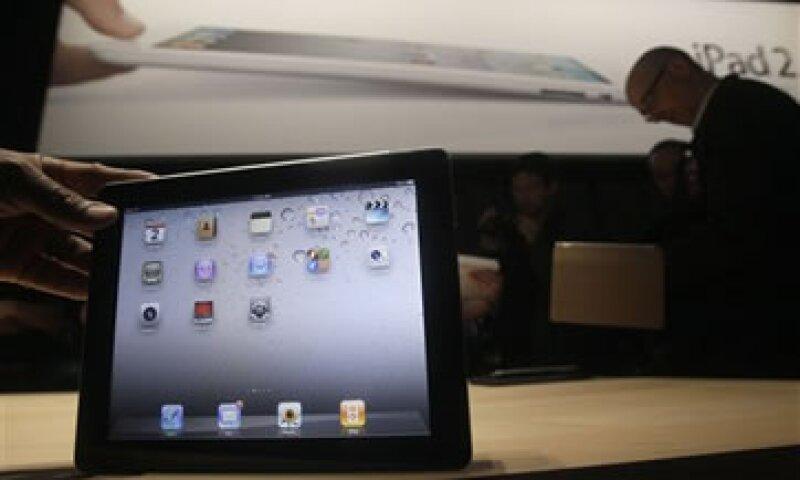 Hay cerca de 100,000 aplicaciones escritas para iPad, muchas más que para el sistema Android de Google. (Foto: AP)