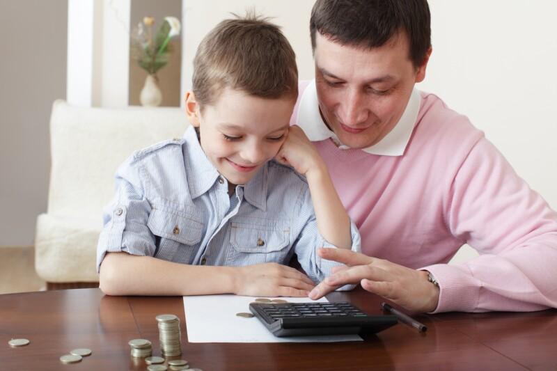 Padre e hijo inversionistas